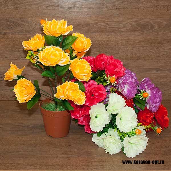 цветы искусственные оптом
