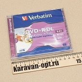 Диск DVD+R Verbatim  8,5 ГБ 8х Double Layer Ink Print