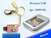 Флэш-карта USB2.0 FLASH 8GB USB Фотик металл